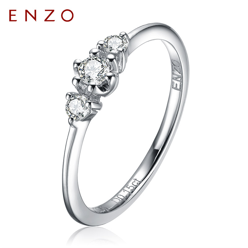 Enzo jewelry diamond ring female k gold diamond cluster ring nvjie ring row upof mm new article shall quit