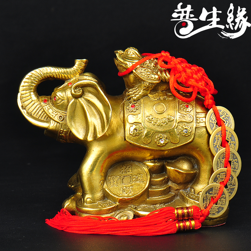 Epson edge riches and honor the toad toad lucky copper elephant elephant feng shui ornaments three legged toad ornaments