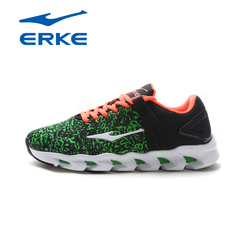 Erke men's sports shoes 2016 new fall shoes breathable cushioning running shoes comprehensive training 11116314186