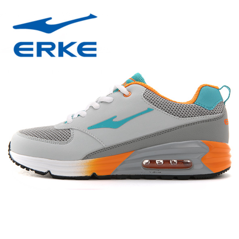 Erke shoes sneakers running shoes air max cushion shoes breathable sneakers 2015 new winter