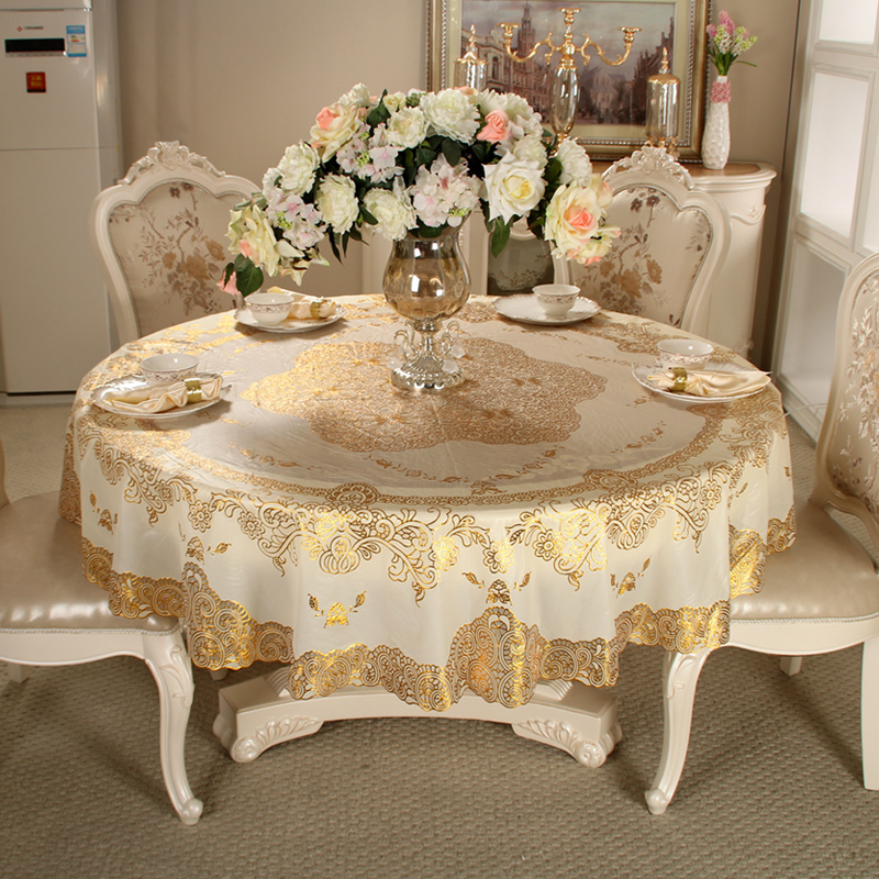 Lovely Get Quotations · Euclidian Hot Water And Oil Proof Pvc Plastic Tablecloth  Round Tablecloth Pastoral Coffee Table Cloth Tablecloth