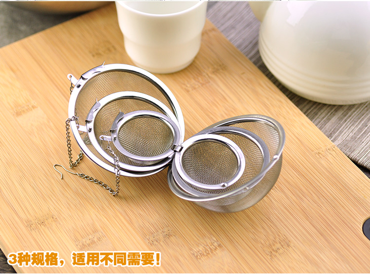 Europe more than 304 stainless steel seasoning packet halogen material filter bags soup pot seasoning spices seasoning box ball bulb