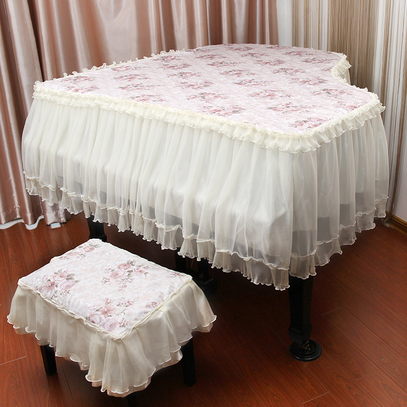 Europe new fashion european pastoral piano piano cover pastoral lace fabric cover can be customized! free shipping