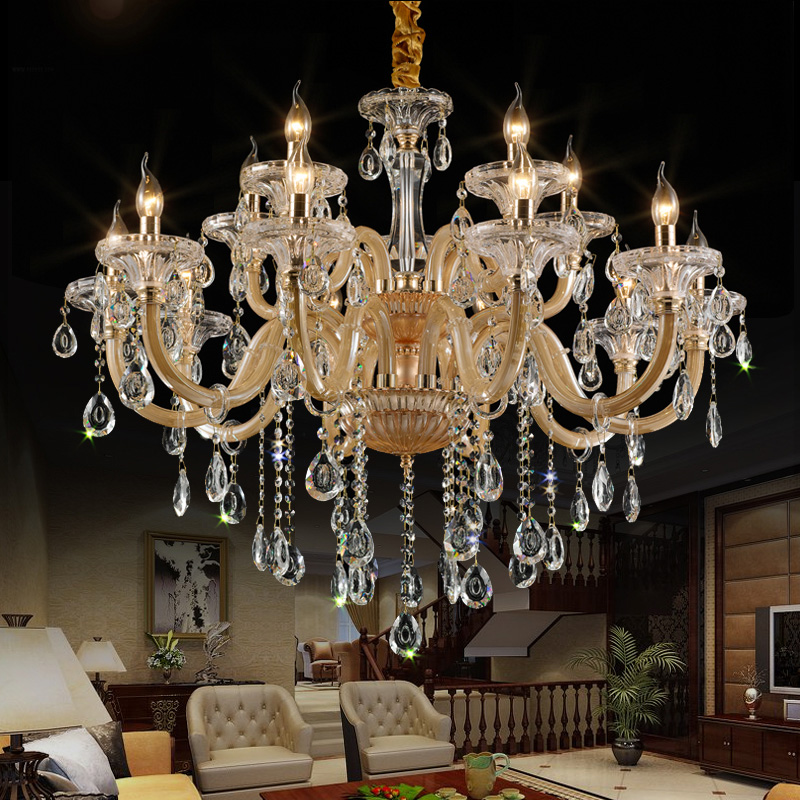 China large staircase chandeliers china large staircase chandeliers get quotations european crystal chandeliers living room chandelier dining room den american creative staircase chandelier crystal candle chandelier aloadofball Gallery
