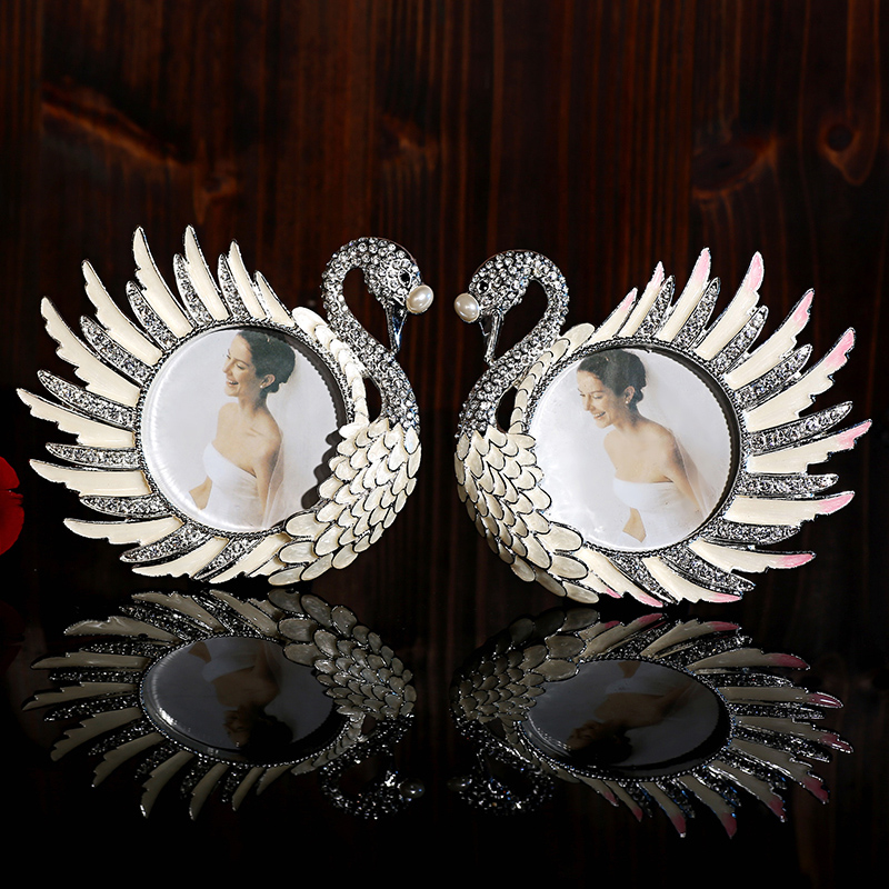 European crystal swan ornament ornaments wedding gift ideas small living room furnishings craft jewelry home supplies