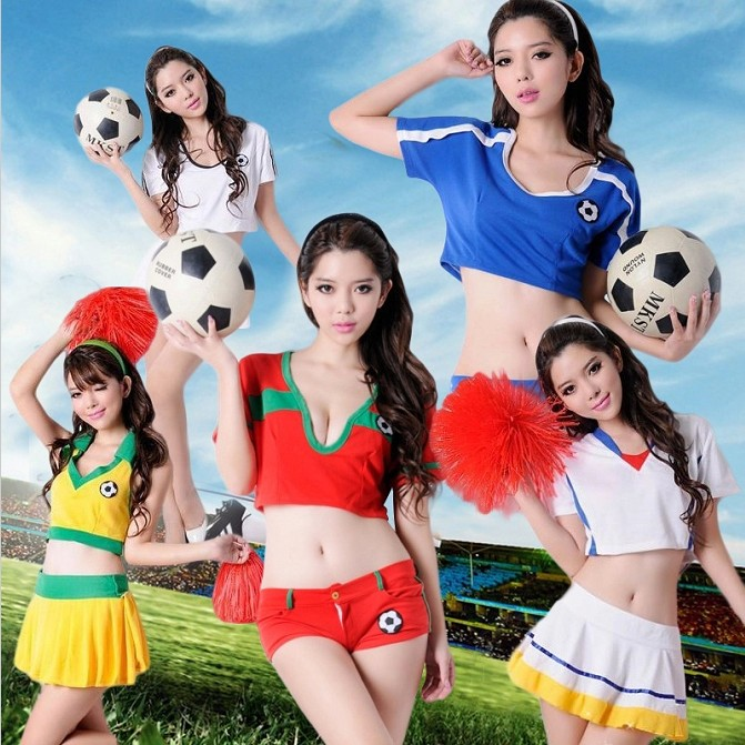 European cup football baby clothing ds costumes stage clothes sexy catwalk clothing la la la uniforms photography photo