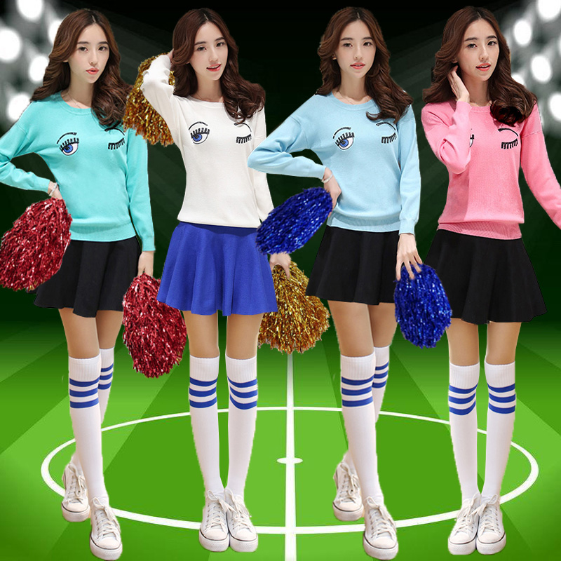 European cup football baby clothing hip-hop jazz dance costume suit fitness aerobics cheerleader skirt suit costumes