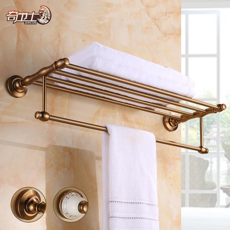 European space aluminum antique copper bathroom bathroom accessories bathroom towel rack towel rack towel rack brushed