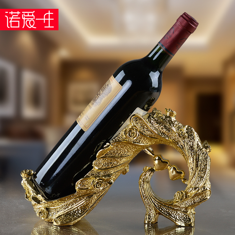 European wine rack wine rack wine rack wine cooler decorations ornaments creative home furnishings living room art crafts
