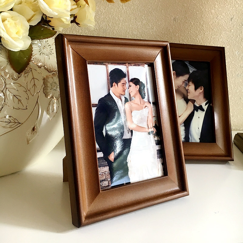 European wood frame swing sets 4 open 8 k/5 6 7 8 10 12 16 20 inch a4a3 wall Creative photo frame picture frame