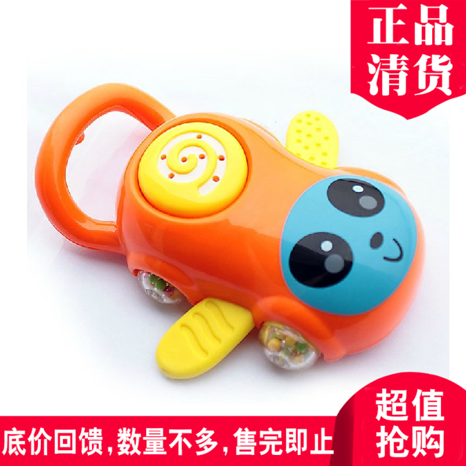 Excellent babe baby rattles infant teether rattle rattles newborn small riders 0W-1 years old educational toys