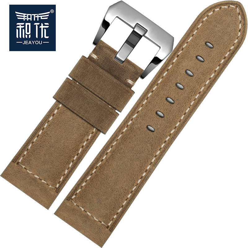 Excellent product panerai panerai watches wristwatch male leather panerai strap buckle accessories women