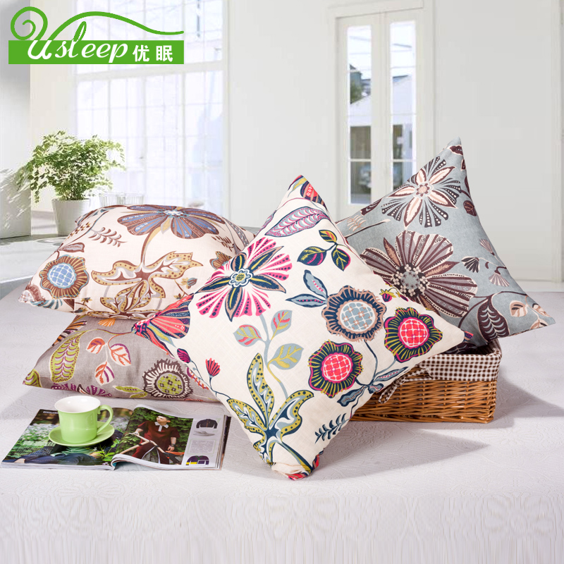 Excellent sleep cotton printed linen pillow cushion sofa cushions cushion covers pillow office pillow core containing contadino