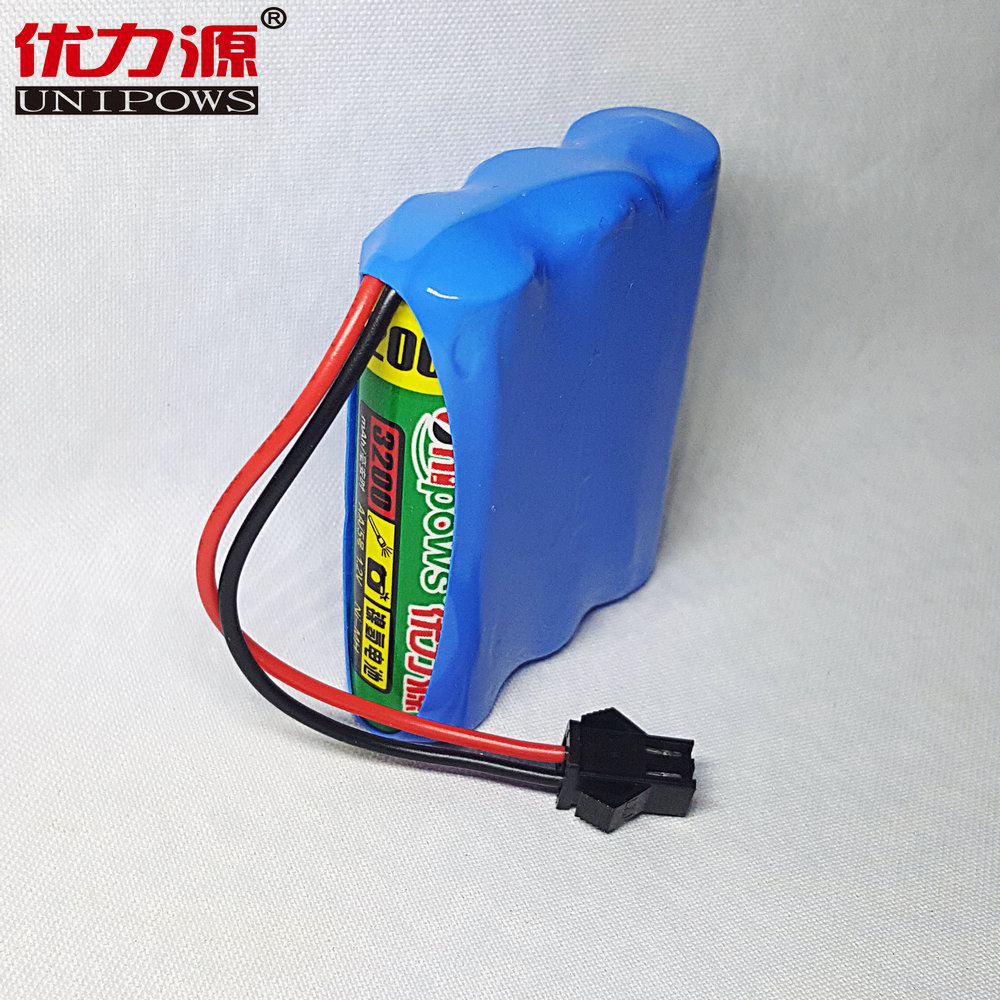Excellent source of 5 v battery toy car battery aa3200mah single row combination with sm on head