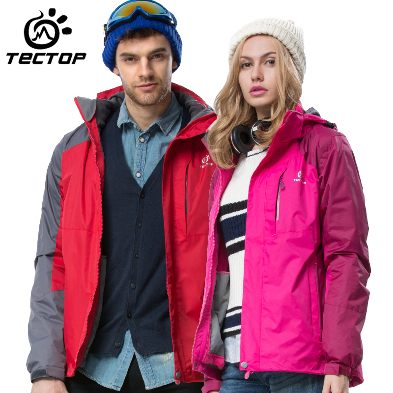 Explore tinto tectop outdoor 2015 new winter jackets for men and women couple paragraph piece triple jackets