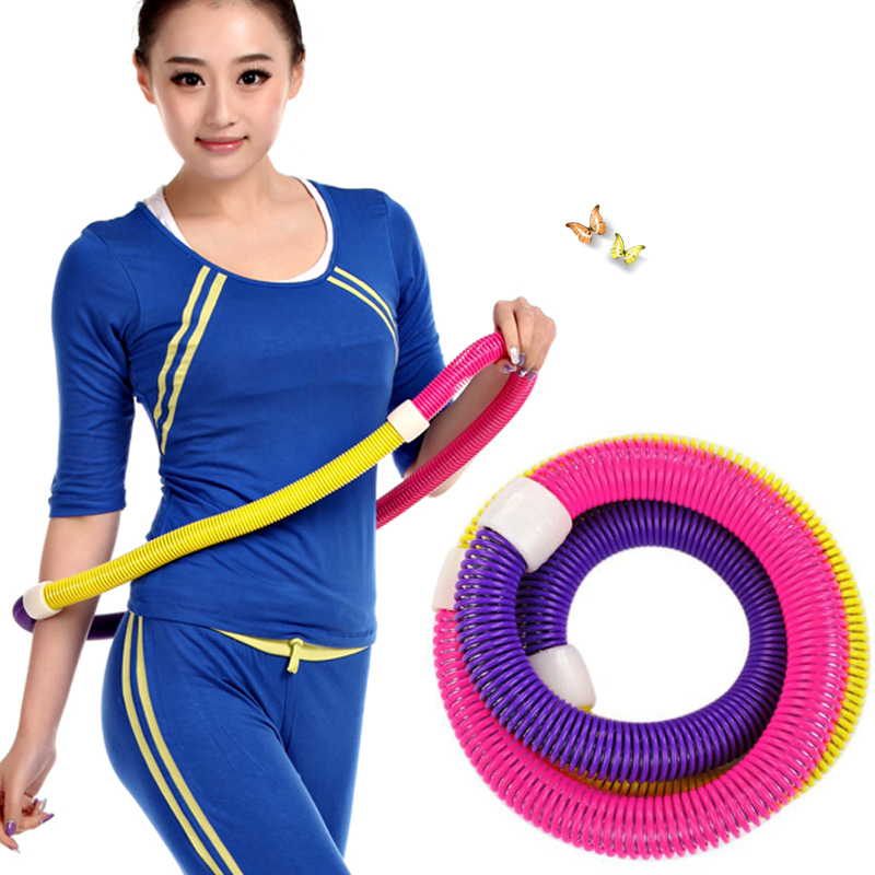 Extended to increase spring hula hoop hula hoop thin waist and abdomen fitness nonrigid children lose weight hula hoop hula hoop hula hoop lap crash