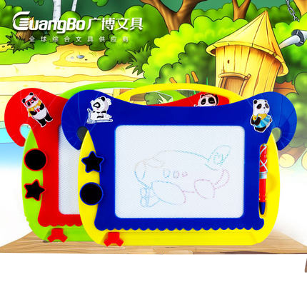 Extensive large color magnetic sketchpad children wordpad baby educational toys gift drawing board to write free shipping