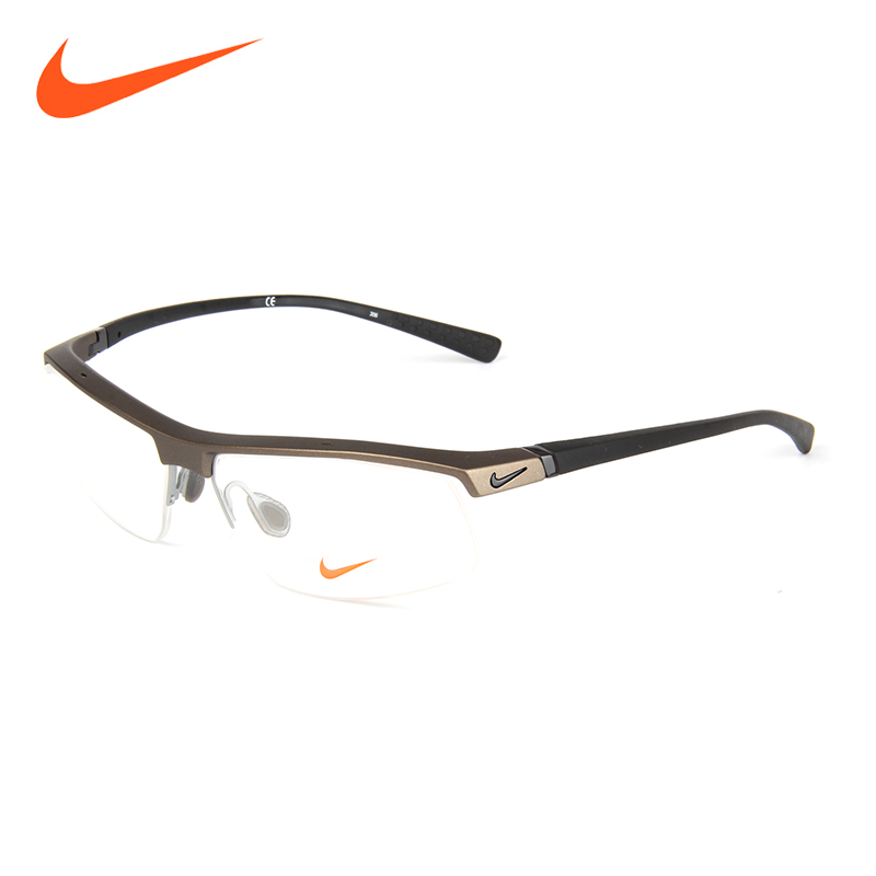 Eyeglass frames for men nike nike sports myopia half frame glasses frame glasses female ultralight NIKE-7071/3