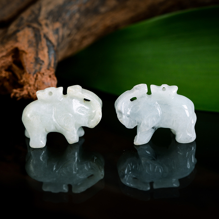 Faithful shengping pendant a cargo of natural jade pendant in sterling silver elephant thai elephant kyrgyzstan as diy jewelry pendant necklace beads accessories