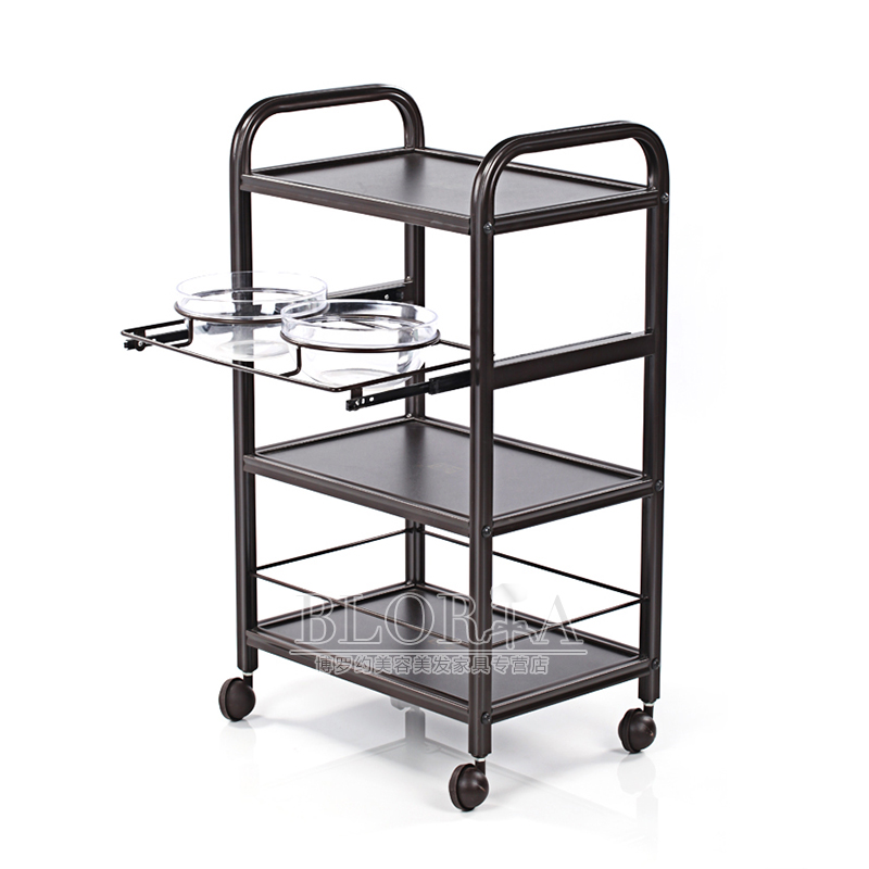 Fashion and beauty beauty trolley car tool car comes with a film bowl beauty salon trolleys