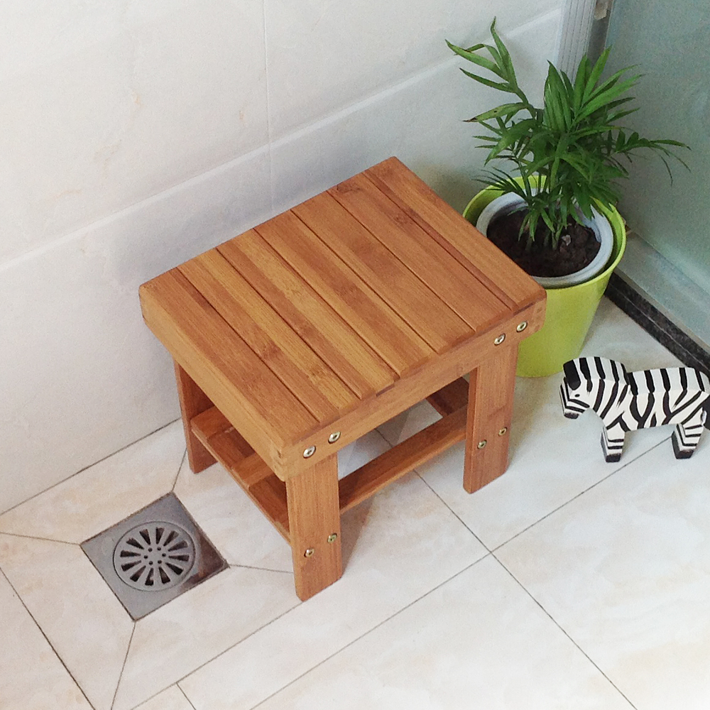 Fashion bamboo stool ottoman stool wood stool changing his shoes storage stool stool stool children fishing stool stool stool laundry specials