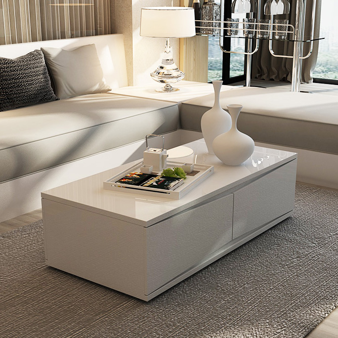 Fashion simple coffee table coffee table tv cabinet paint suit combination of modern storage coffee table