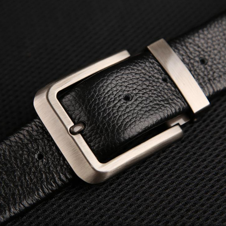 Fat can tide products lengthened leather pin buckle leather belt trousers big yards fat men's business casual leather belt