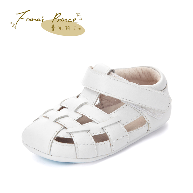Fees children prince of baotou baby sandals summer sandals soft bottom boys and girls baby shoes newborn baby one year old toddler shoes