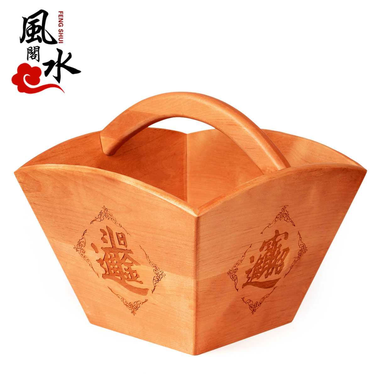 Feng shui court archaized m bucket ornaments rijindoujin mahogany mahogany feng shui ornaments lucky cai home accessories
