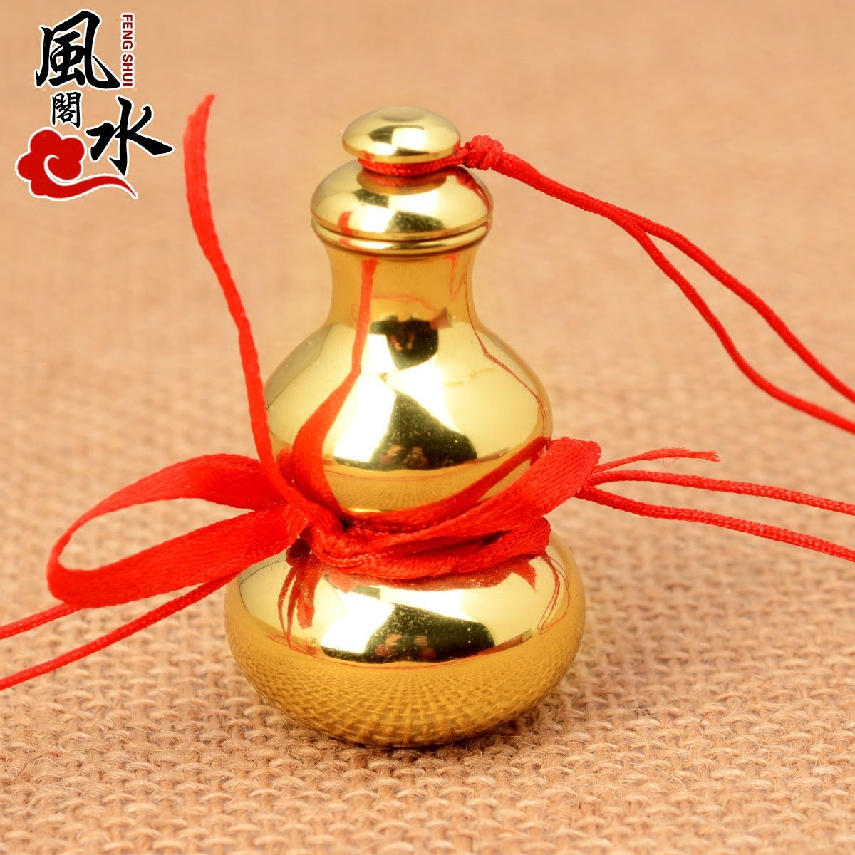 Feng shui court opening gossip copper gourd ornaments feng shui shipping home craft jewelry home furnishings
