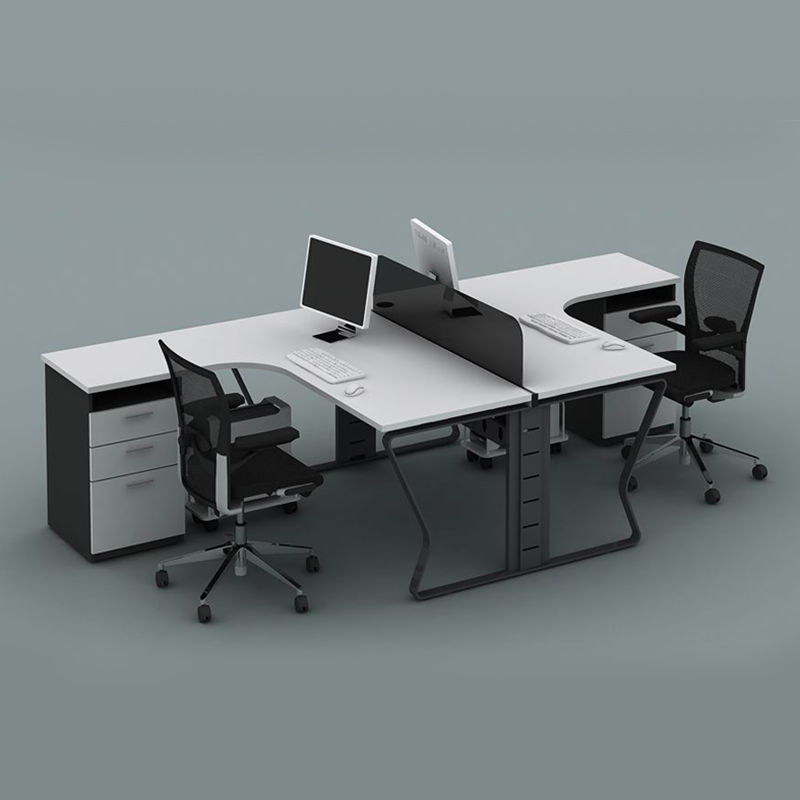 Fg office furniture desk staff minimalist modern combination screen deck desk staff tables and chairs office chairs
