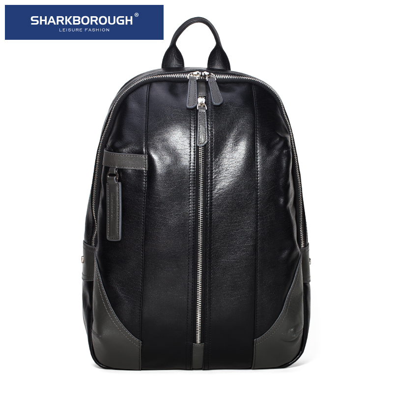 4760134198 Get Quotations · First layer of leather shoulder bag man bag backpack  shoulder bag man bag leather business trend