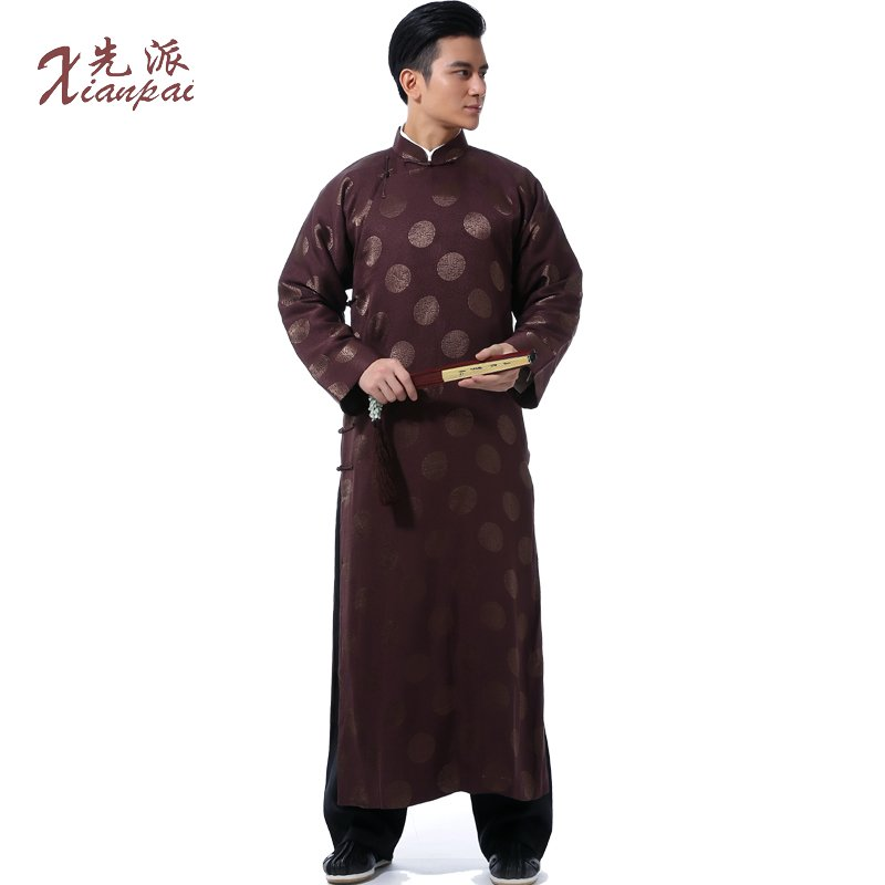 Get Quotations · First sent pre-2015 costume male in spring and autumn new  chinese robe coat comic 0a2736818