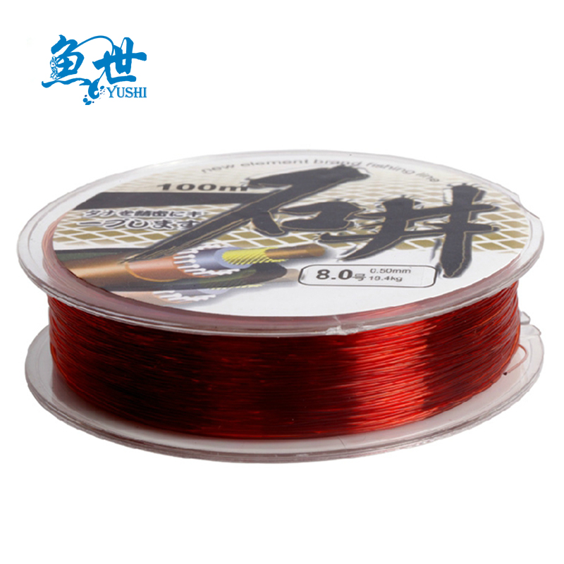 Fish world a 180m ishii nylon fishing line main line fishing line fishing angeles asian line fishing equipment fishing