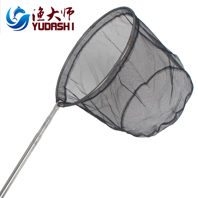 Fishing master stainless steel folding net head with a total length of 2.3 m can be positioned dip net fishing net fishing nets special price Fishing gear
