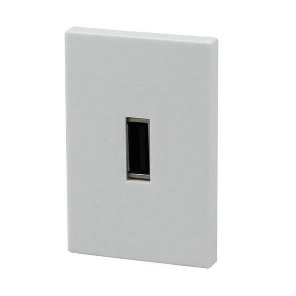 Float too n118 american usb wall plug socket usb usba female twist wire card line card line module