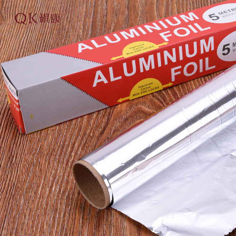 Foil bakeware 5 m 10 m food cooking barbecue oven with aluminum foil paper baking diy tools