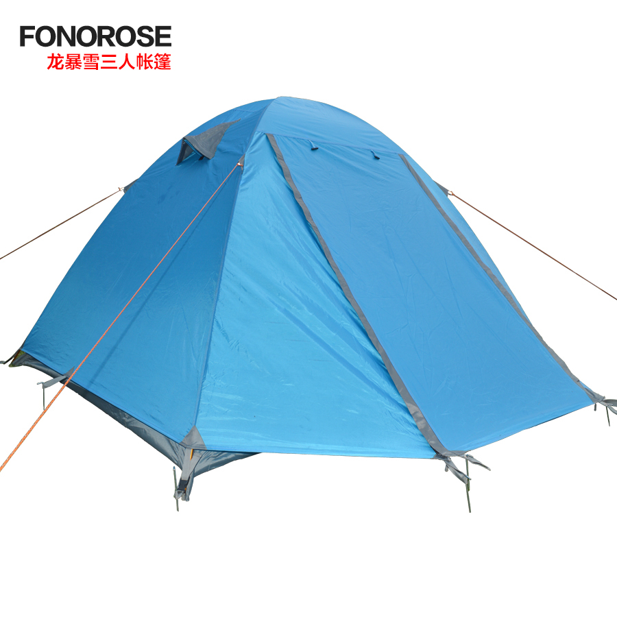 Fonorose outdoor three or four people double multifunction tent camping tent rain