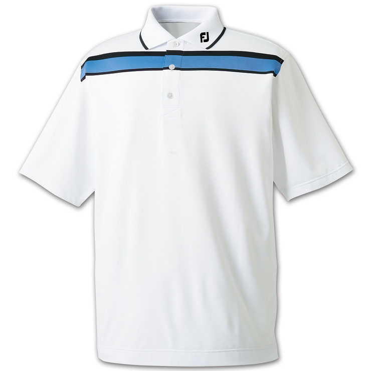 Footjoy golf golf golf men's golf shirt polo shirts polo shirt 22341