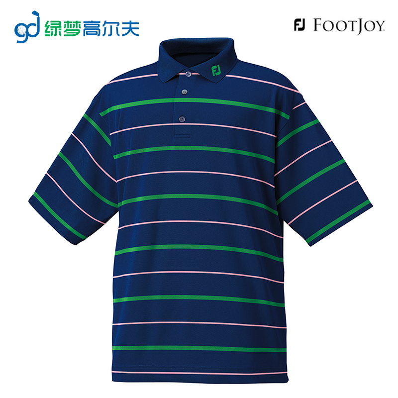 Footjoy golf golf men's golf men's t-shirt t-shirt spring and summer t-shirt] [large size deals