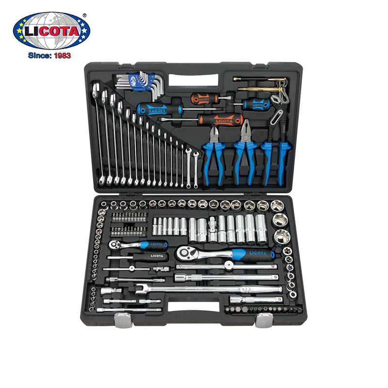 Force of up to 143 machine repair aftermarket socket wrench kit car repair hardware tools ratchet wrench set