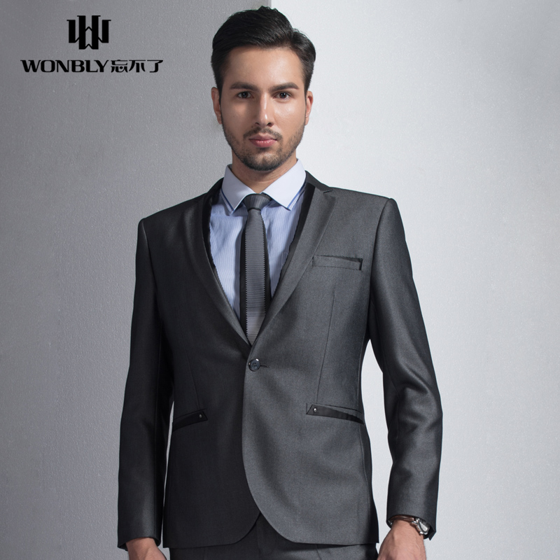 China Grey Color Suit For Wedding, China Grey Color Suit For ...