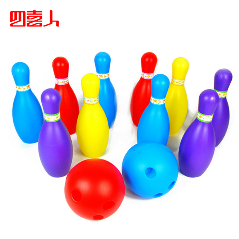 Four gratifying oversized children's toys bowling bowling bowling vitality children simulation early childhood educational toys 5152