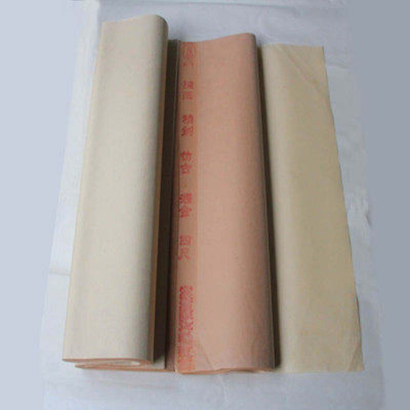 Four treasures of refined rice paper antique throwing rice paper anhui jing county xuan kong dan authentic rice paper calligraphy paper
