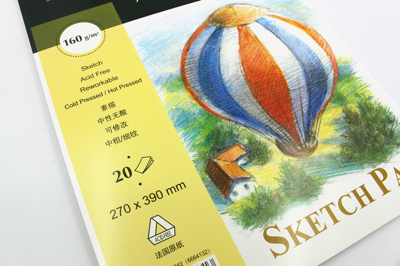 France canson canson sketch sketchbook 16 k 8 open hoops sketchbook sketchbook sketch paper sketch paper 160g 20 zhang