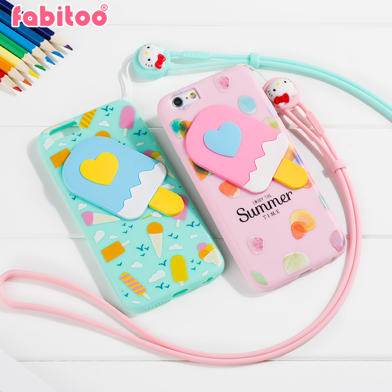 France pyrene rabbit iphone6 apple phone shell mobile phone sets s paul jackets popular brands of ice cream creative lanyard plus soft shell female models