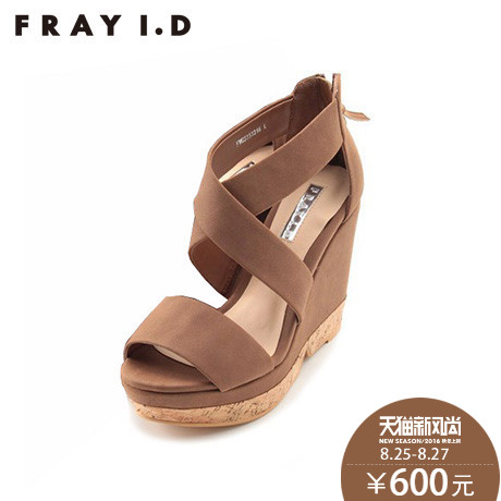 aaf7906c80 Fray i. d models super high heels wedge sandals 2015 new spring and summer  pictures