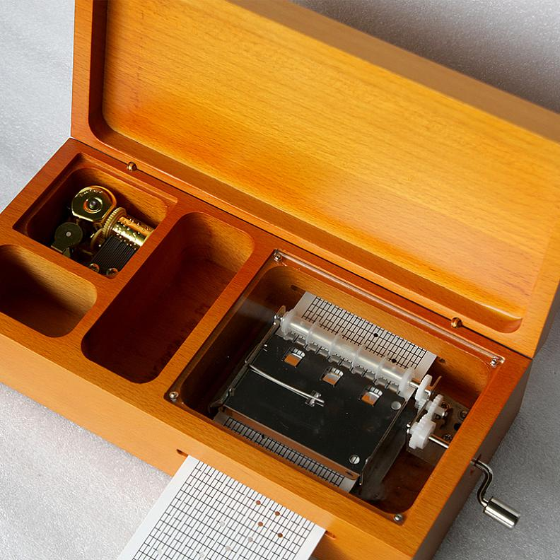 Free first map song to send 150 30 audio tape compose music box music box creative couple birthday gift