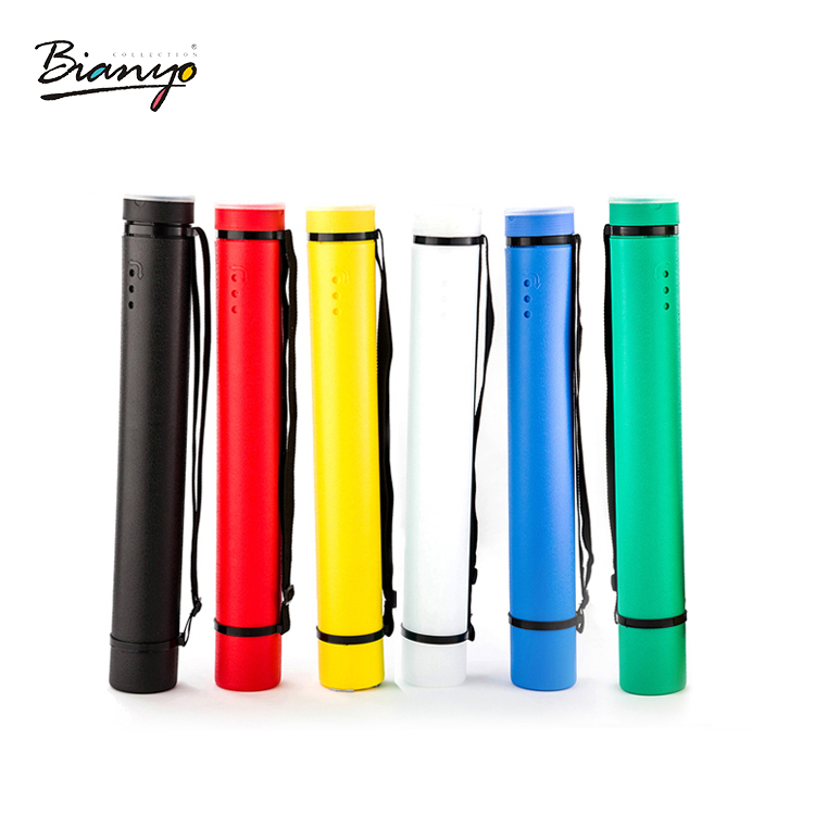 Free shipping! biao nigeria thick telescopic sticks painted plastic tube drawing tube drawing tube collection tube poster tube