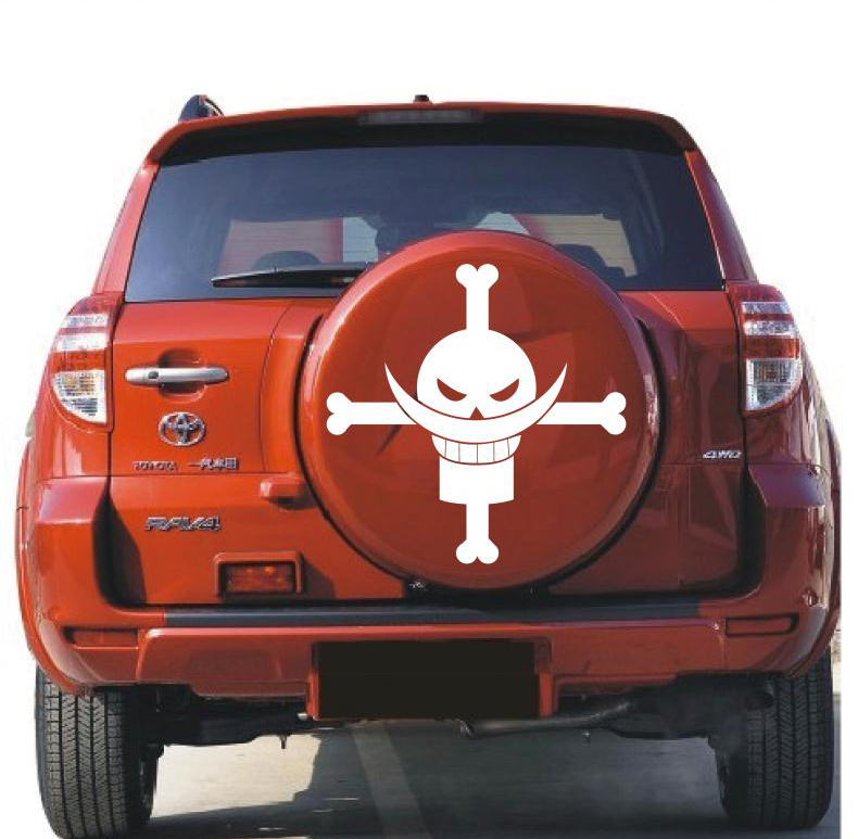Free shipping car stickers crv toyota rav4 spare tire stickers affixed reflective stickers personalized stickers adios car stickers